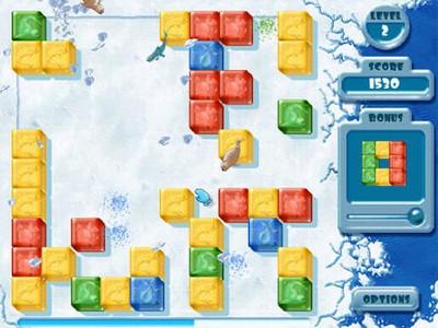 Penguin Puzzle Game