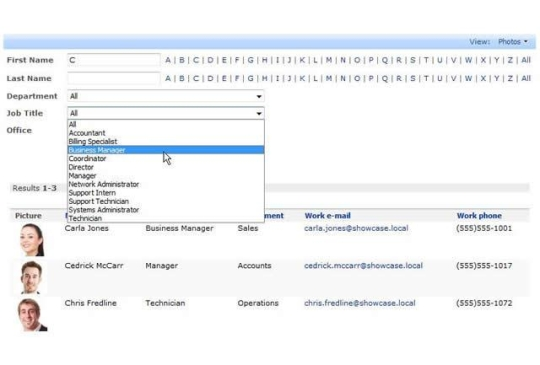People Directory for SharePoint 2010