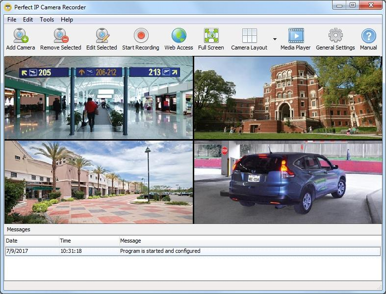 Perfect IP Camera Recorder