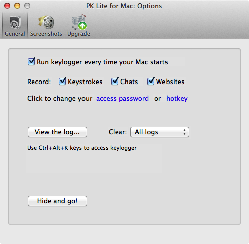 Perfect Keylogger Lite