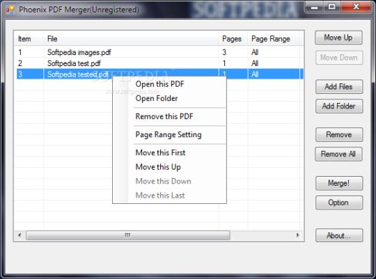 Phoenix PDF Merger