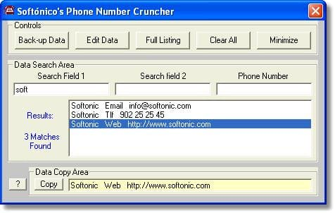 Phone Number Cruncher