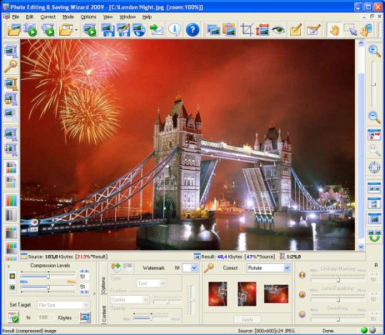 Photo Editing & Saving Wizard for Photoshop