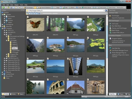 Photo Manager 2010 Professional