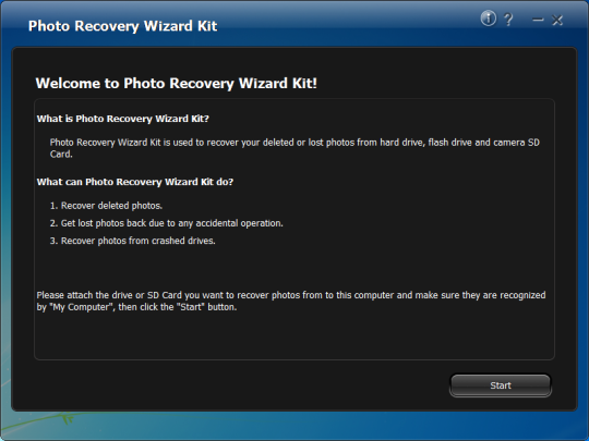 Photo Recovery Wizard Kit