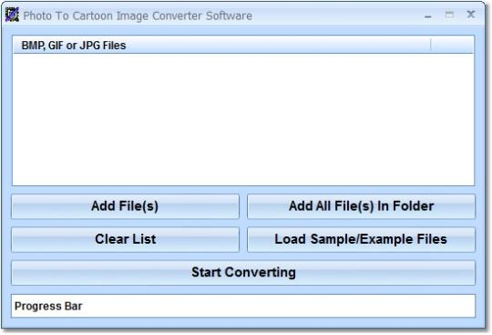 Photo To Cartoon Image Converter Software