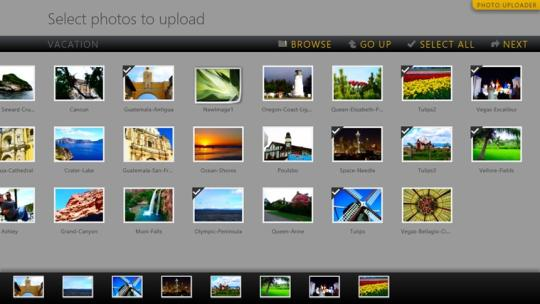 Photo Uploader for Windows 8