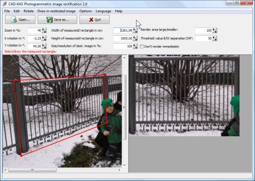 Photogrammetric Image Rectification
