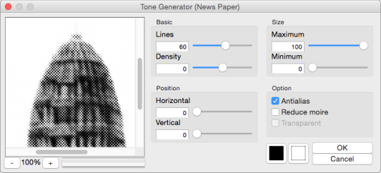 Photoshop Comic Tone Generator (Intel 64bit)