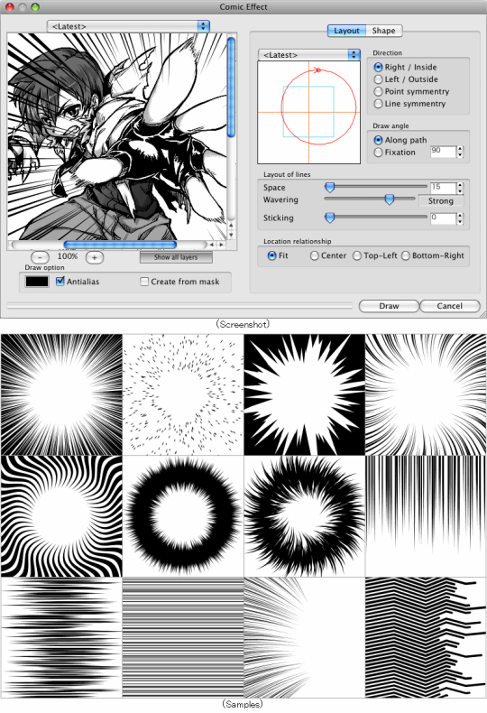 Photoshop Manga Effect Plugin (PPC Edition)