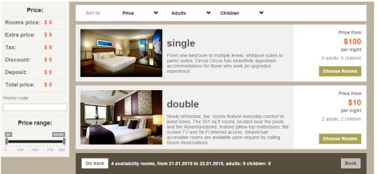 PHP GZ Hotel Booking Script