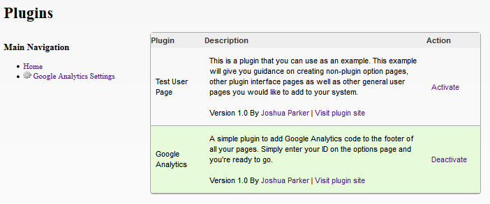PHP Plugin & Hook System