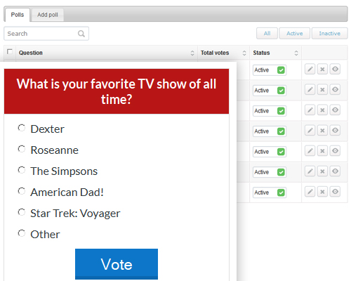 PHP Web Poll