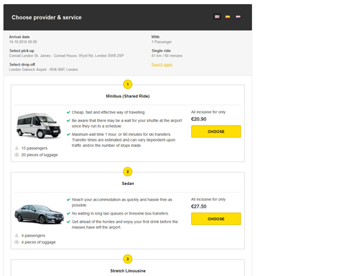 PHPjabbers Shuttle Booking Software
