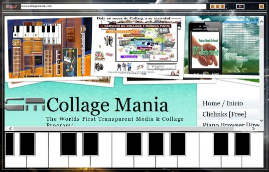 Piano Browser