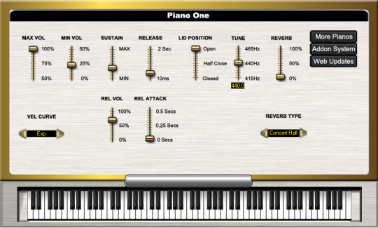 Piano One for Mac