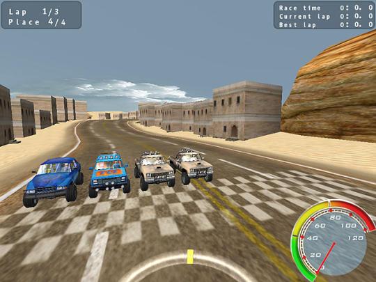 Pickup Racing Madness