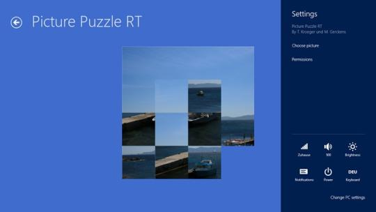 Picture Puzzle RT for Windows 8