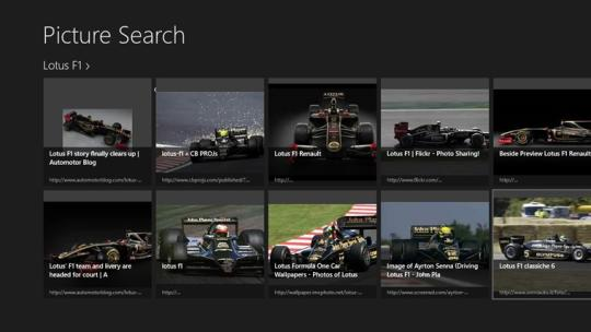 Picture Search for Windows 8