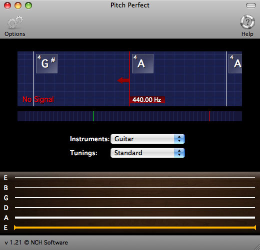 PitchPerfect Musical Instrument Tuner