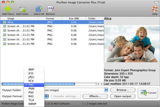 Pixillion Free Image Converter
