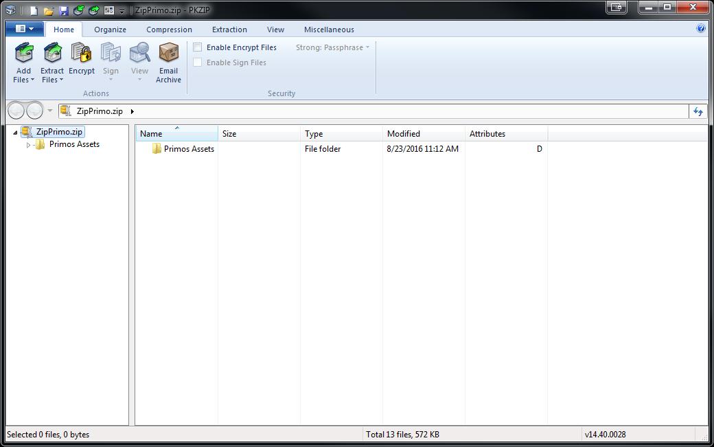 PKZIP for Windows