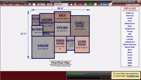 Plan Layout Tool