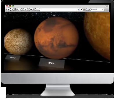 Planets Screensaver