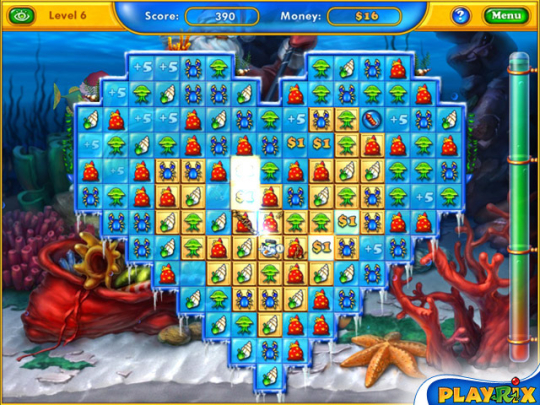 Playrix Fishdom: Frosty Splash