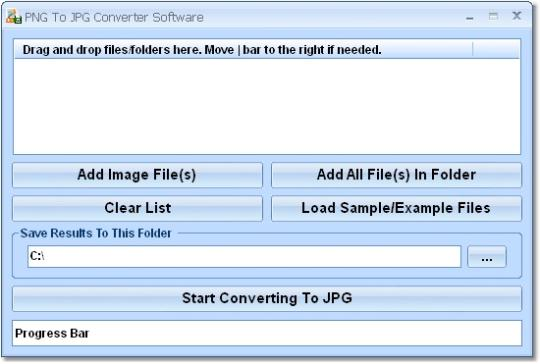 PNG To JPG Converter Software