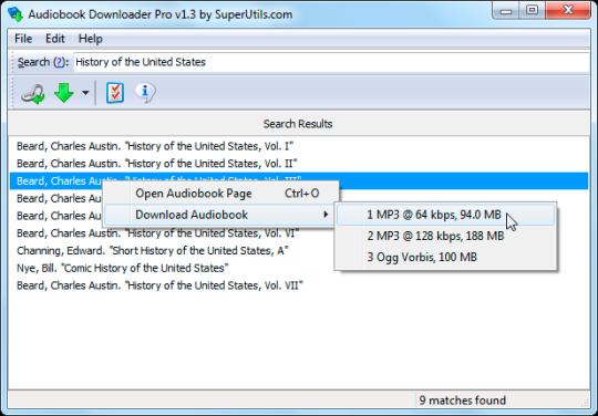 Portable Audiobook Downloader Pro