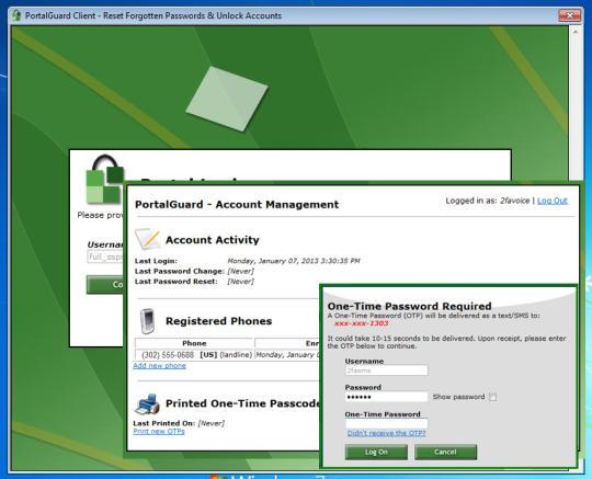 PortalGuard's Stronger Authentication