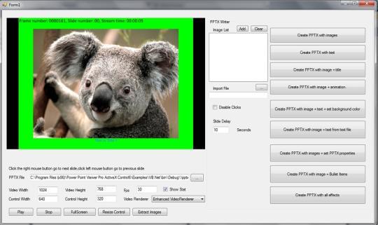 Power Point Viewer Pro SDK ActiveX