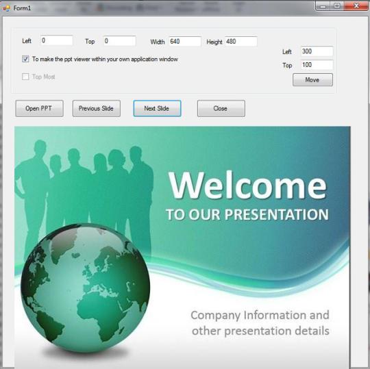 Power Point Viewer SDK ActiveX