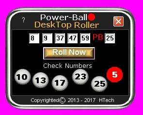 PowerBall Desktop Roller