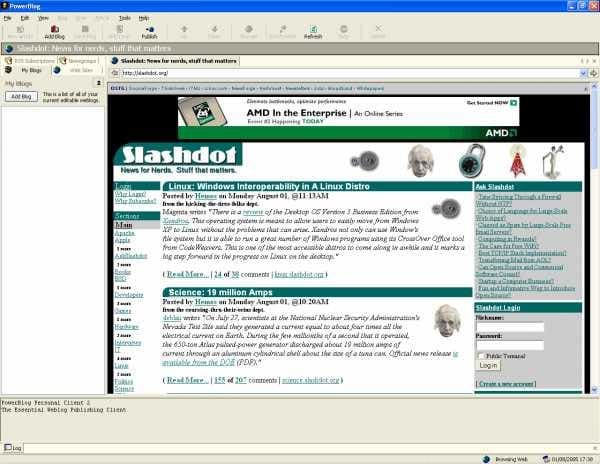 PowerBlog Personal Client