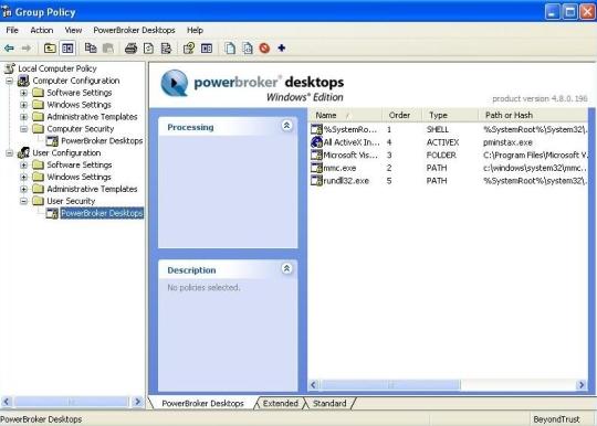 PowerBroker Desktops (SnapIn) (64-Bit)