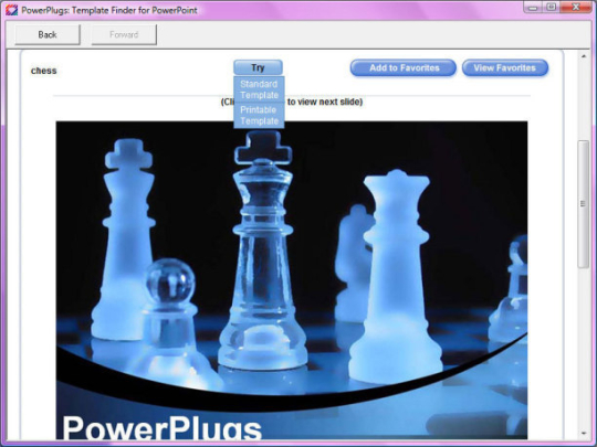 PowerPlugs: Template Finder for PowerPoint (64-bit)