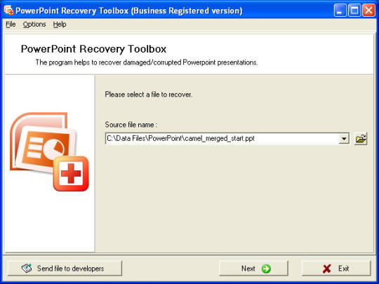 PowerPoint Recovery Toolbox