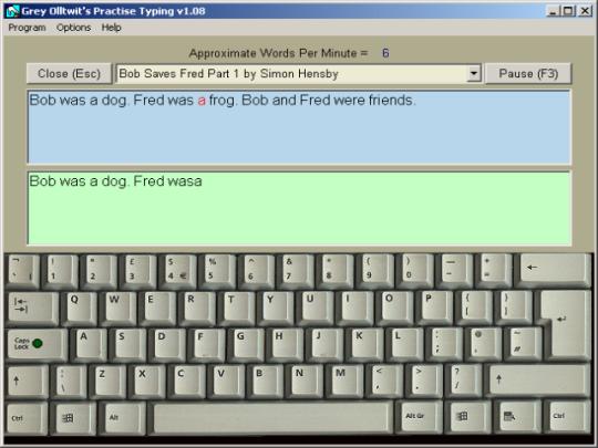 Practise Typing