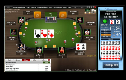 PreFlopper OS X Texas Hold'em Poker Calculator
