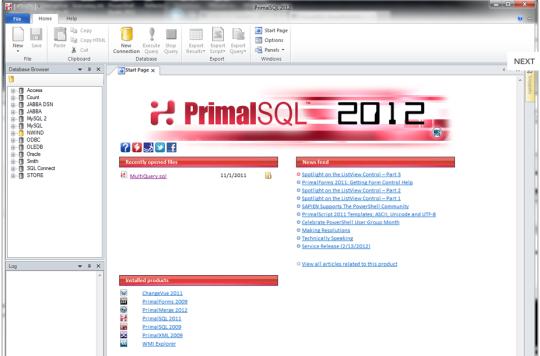 PrimalSQL 2012