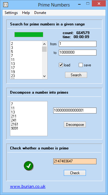 Prime Numbers Portable