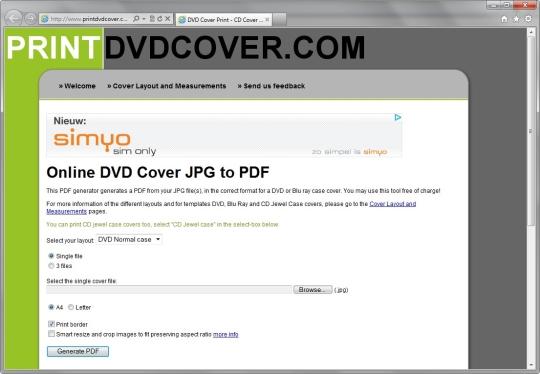 PrintDVDCover.com
