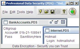Professional Data Security (PDS)