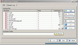 ProfPDF Page Manager