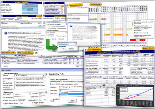 Project Management Template for Excel
