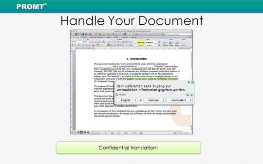 PROMT Offline Translator English Pack
