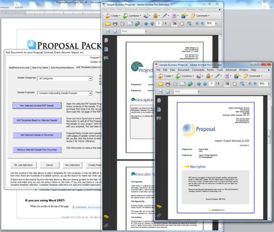 Proposal Pack Wizard (SalesForce.com)