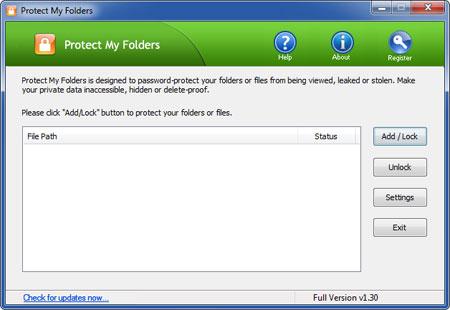 Protect My Folders